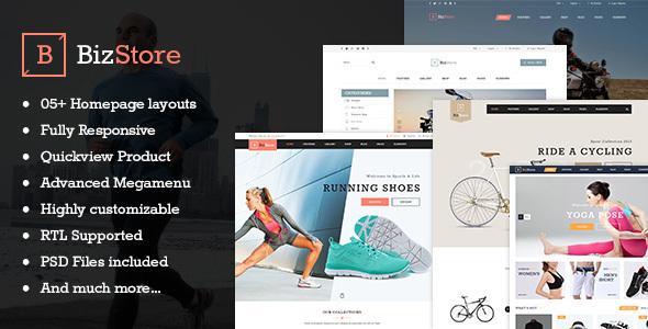 Image of Bizstore - Responsive Premium Prestashop Theme