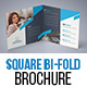 Corporate Square Bi Fold Brochure 01 - GraphicRiver Item for Sale
