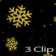 Snowflake Falling Christmas - VideoHive Item for Sale