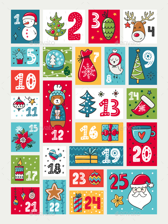 Advent Calendar - Christmas Seasons/Holidays