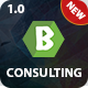 Consulting Finance Corporate Business - b Consulting - ThemeForest Item for Sale