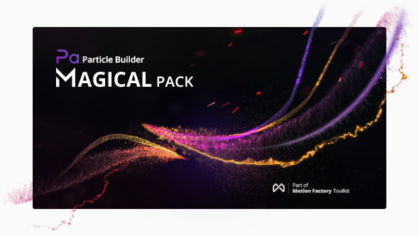 Videohive Particle Builder | Magical Pack: Magic Awards Abstract Particular Presets 20004075