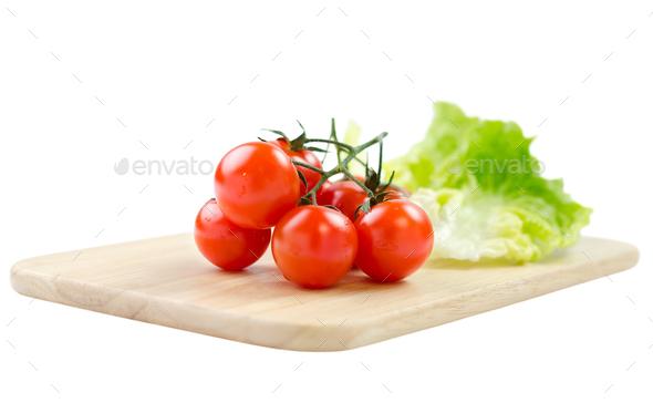 Cherry tomatoes - Stock Photo - Images