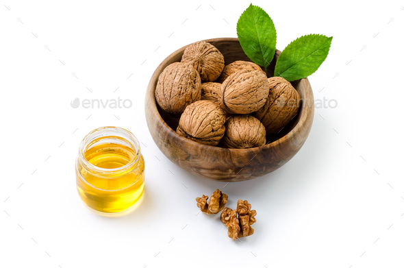 Walnuts - Stock Photo - Images