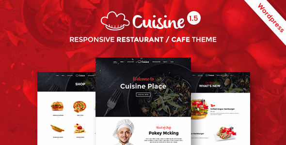 Cuisine - Restaurant WordPress Theme | Restaurant & Cafe