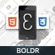 Boldr Mobile | Mobile Template - ThemeForest Item for Sale