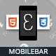 Mobilebar Mobile | Mobile Template - ThemeForest Item for Sale