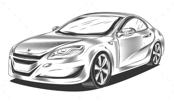 GraphicRiver Modern Sport Car 21055815