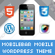 Mobilebar Mobile | Mobile WordPress Theme - ThemeForest Item for Sale