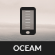Oceam Mobile | Mobile Template - ThemeForest Item for Sale