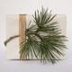 Christmas gift box mock up