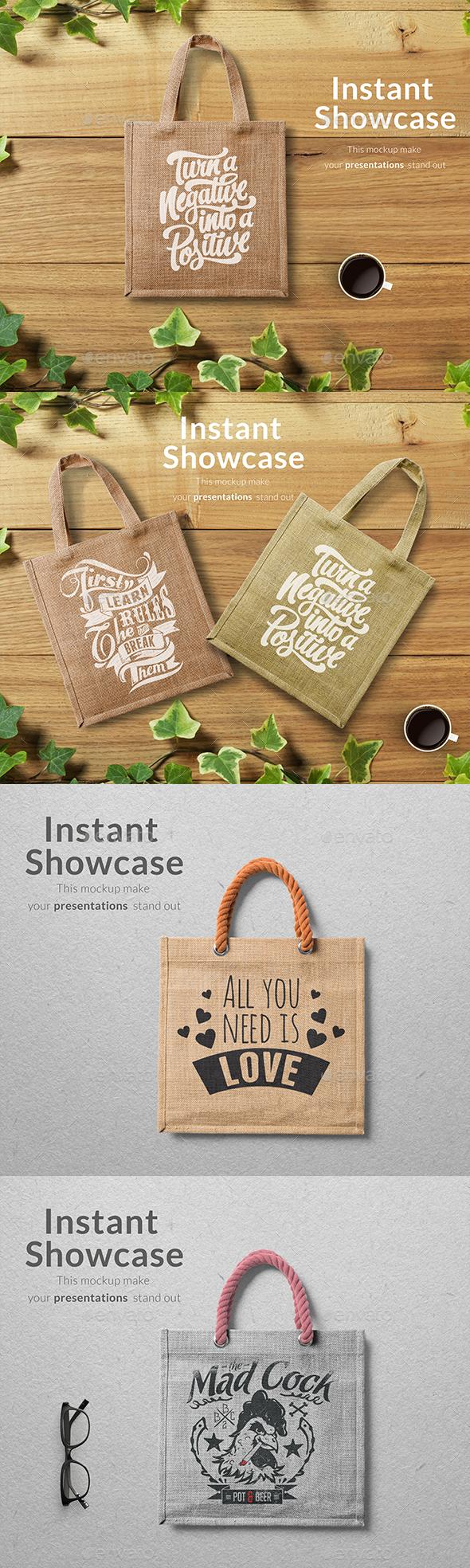 GraphicRiver Eco Bag Mockup 21055918
