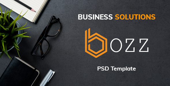 ThemeForest Bozz Corporate and Business PSD Template 20968715