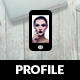 Profile Mobile | Mobile Template