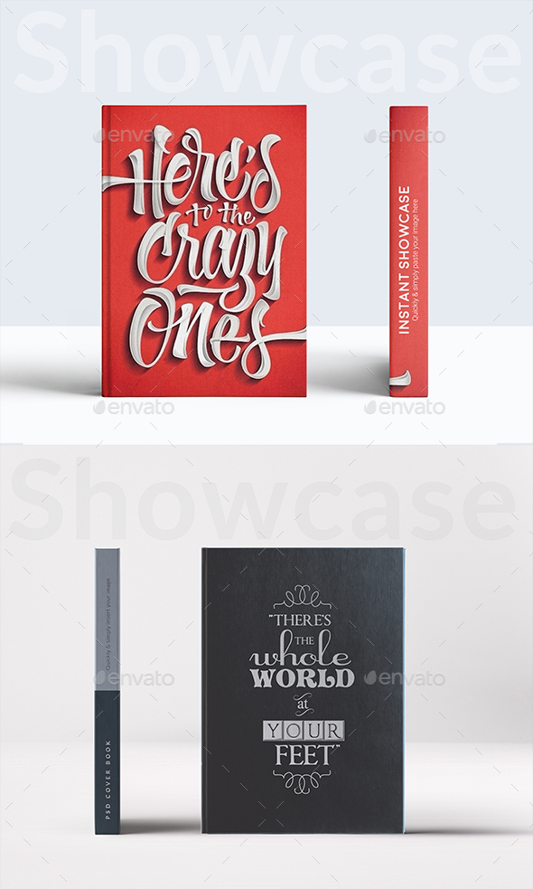 Book Mockup - Product Mock-Ups Graphics
