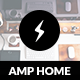 AMP Home Mobile | Mobile Google AMP Template - ThemeForest Item for Sale