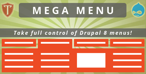 Mega Menu for Drupal 8 - CodeCanyon Item for Sale