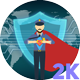 Super Securityman Concepts - VideoHive Item for Sale