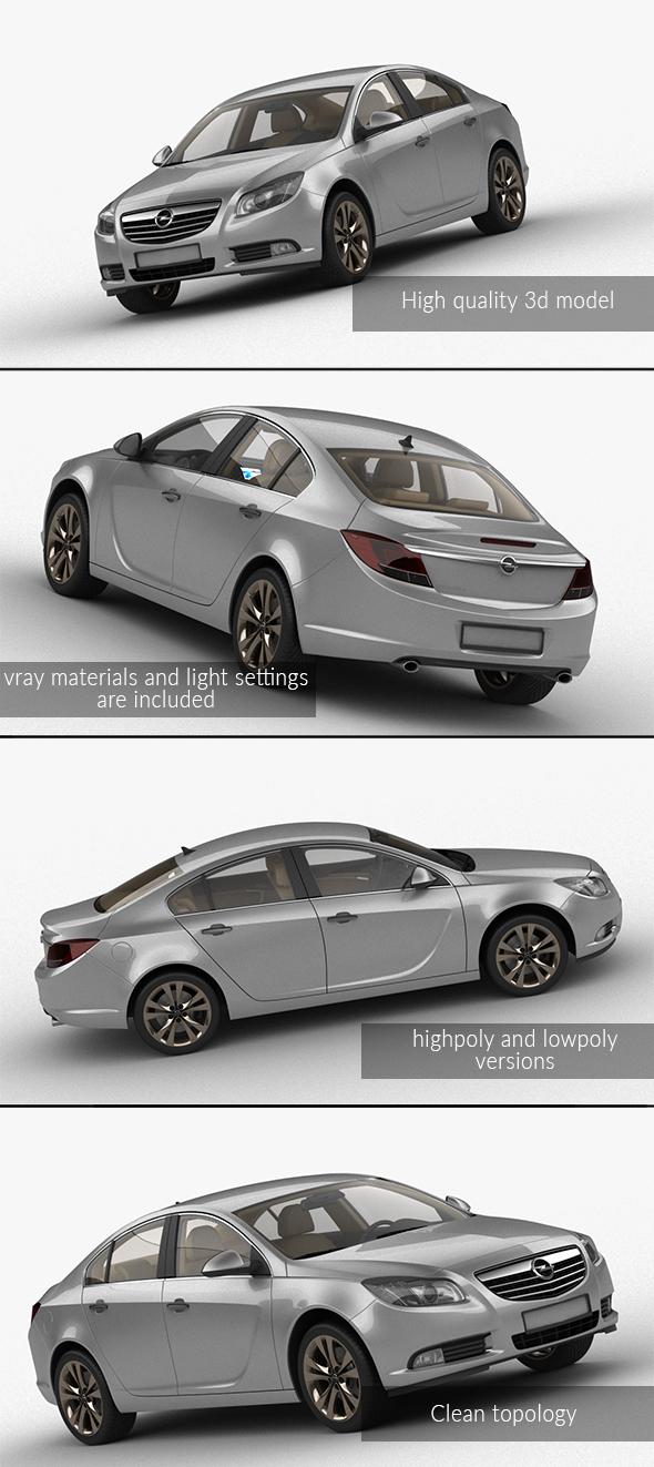 3DOcean Opel Insignia 21056318