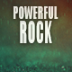 Energetic and Powerful Rock Logo