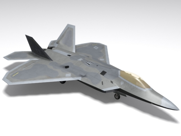 F/A-22 A Raptor - 3DOcean Item for Sale