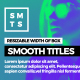 Smooth Promo Titles - VideoHive Item for Sale