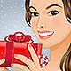 Christmas Girl with Gift Box - GraphicRiver Item for Sale