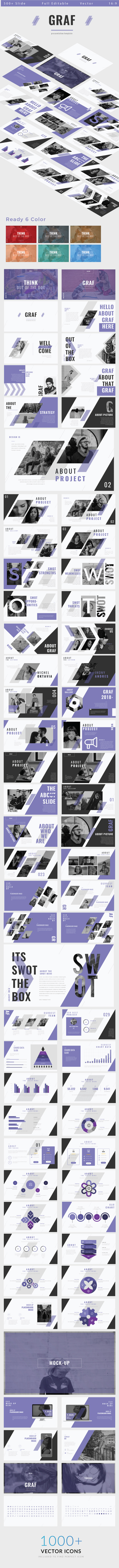 GraphicRiver Graf Powerpoint Template 21056994