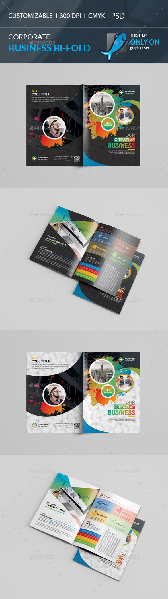 GraphicRiver Bi-Fold Brochure 21057383