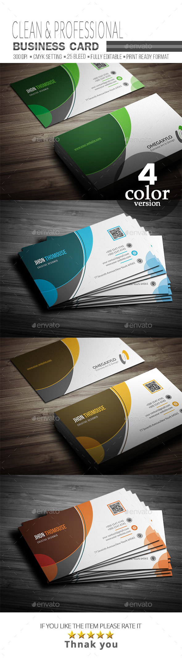 GraphicRiver Business Card 21057602