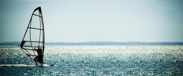 windsurfer - Stock Photo - Images