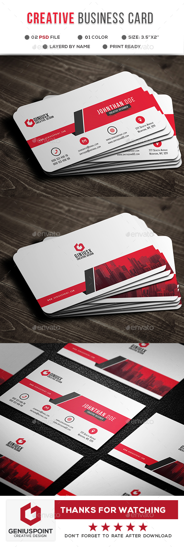 GraphicRiver Creative Business Card 21058200