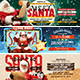 Meet Santa Facebook Cover Bundle - GraphicRiver Item for Sale