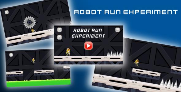 CodeCanyon Robot Run Experiment 21058336