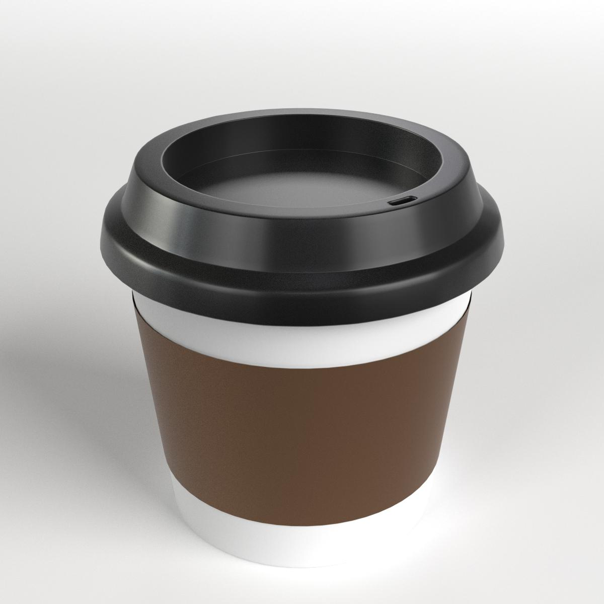 Small Coffe Cups Castrophotos Keep Cup Doppio 8oz 227ml Coffee Travel Mug By Francescomilanese 3docean