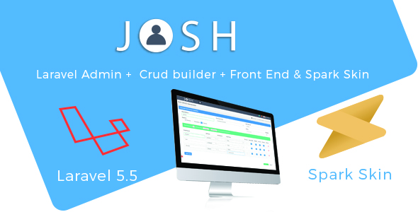 Josh - Laravel Admin Template + Front End + CRUD - CodeCanyon Item for Sale