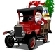Cartoon Retro Christmas Truck - GraphicRiver Item for Sale