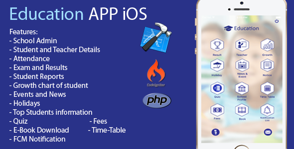 Education App iOS - CodeCanyon Item for Sale