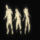 Dancers Flashing Light - VideoHive Item for Sale
