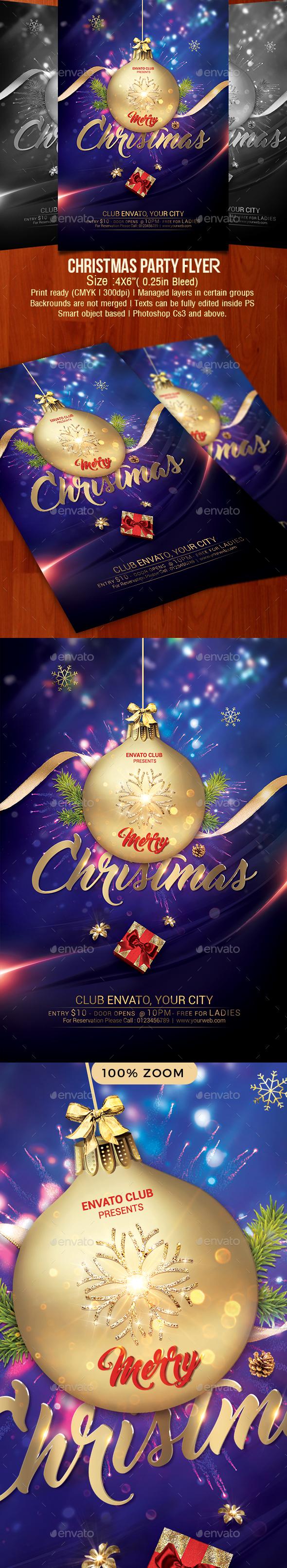 GraphicRiver Christmas Flyer 21059052
