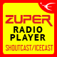 Zuper - Shoutcast and Icecast Radio Player With History