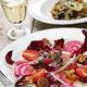 radicchio rosso salad and fresh porcini mushroom risotto - PhotoDune Item for Sale
