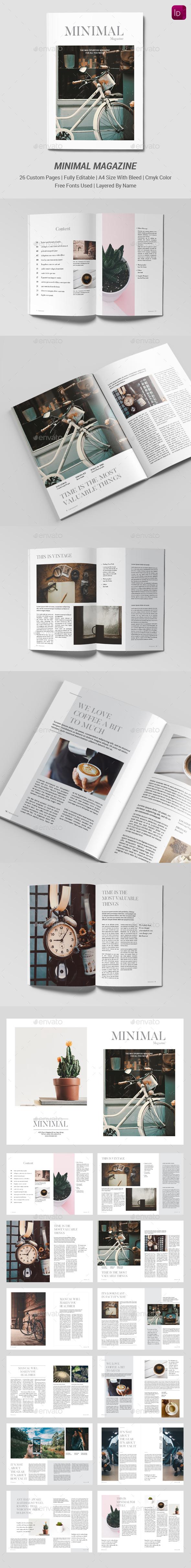 GraphicRiver Minimal Multipurpose Magazine 21059532