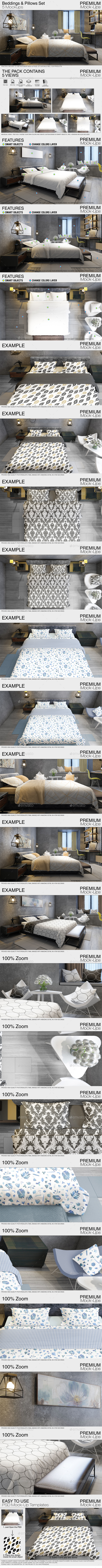 GraphicRiver Beddings Pack 21059670