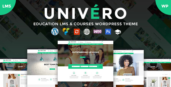 ThemeForest Univero Education LMS & Courses WordPress Theme 21059668
