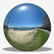 City Beach Overlook HDRI - 3DOcean Item for Sale
