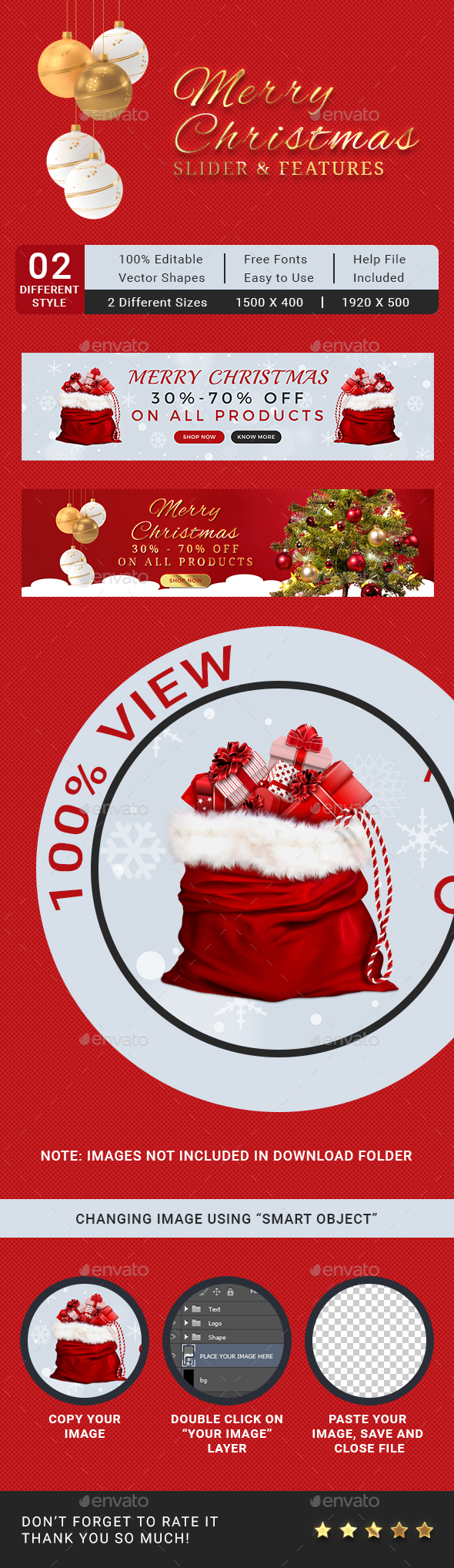 GraphicRiver Christmas Sales Slider 21060362
