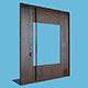 Square Metal Door - 3DOcean Item for Sale