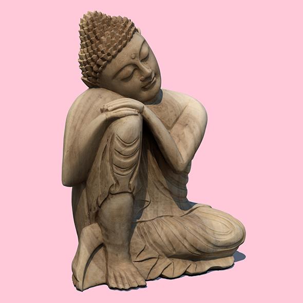3DOcean Resting Buddha 21060501