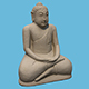 Stone Buddha - 3DOcean Item for Sale